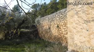 Finca próxima a La Fresneda con vistas a Torre del Compte en oferta con agua