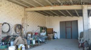 Chalet en Fayón para vender con nogales por 160.000€