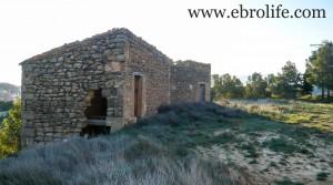 Masía de piedra en Maella para vender con casa por 18.000€