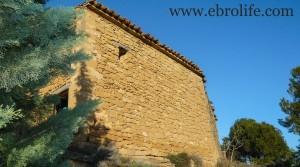 Detalle de Masía de piedra en Maella con masía por 18.000€
