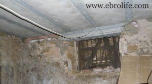 Detalle de Casa rústica en Maella con calefacción
