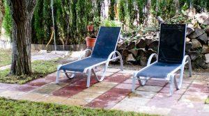 Chalet con piscina en Caspe a buen precio con amueblado por