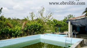 Foto de Torre con piscina en Caspe con piscina