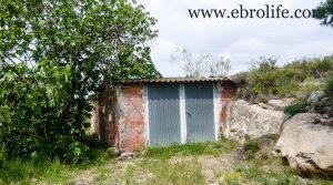 Torre con piscina en Caspe a buen precio con amueblado por 46.000€