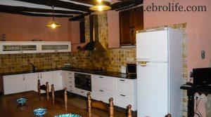 Detalle de Casa rústica en Calaceite con electricidad