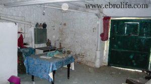 Casa en el casco antiguo de Calaceite a buen precio con agua