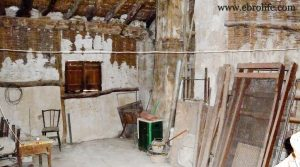 Casa antigua en Fabara para vender con bodega