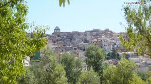 Detalle de Finca rústica en Horta de Sant Joan con almendros