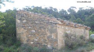 Detalle de Finca rústica en Maella con almendros por