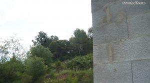 Detalle de Finca rústica en La Fresneda con almendros