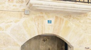 Detalle de Casa Rural en Fórnoles con casa