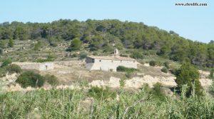 Detalle de Finca rústica de regadio en Villalba dels Arcs con corral