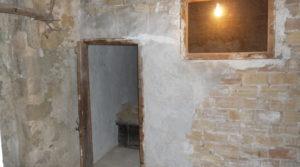 Casa con patios abiertos en Maella en oferta con garaje por 66.000€