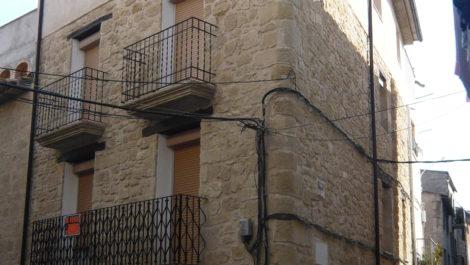 Casa de piedra en Maella
