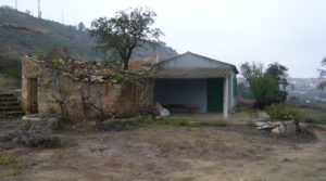 Detalle de Chalet en Caspe con piscina