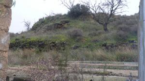 Detalle de Chalet en Caspe con barbacoa cubierta