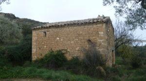 Detalle de Finca en La Huerta de Caspe con cerezos por 40.000€