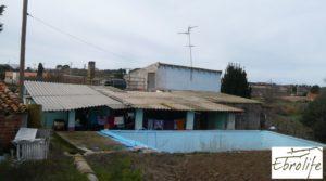 Casa de campo en Caspe con gran piscina en venta con garaje
