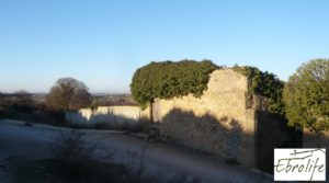Huerto y Masía de dos plantas en Maella a buen precio con desagüe