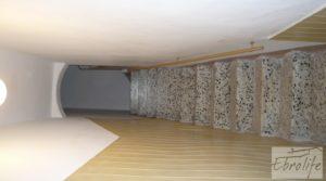 Detalle de Casa de piedra en el centro de Batea con trastero por 75.000€