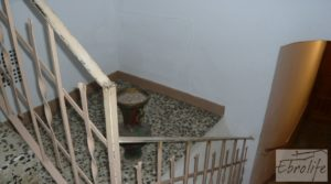 Foto de Casa de piedra en el centro de Batea con calefacción central