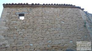 Detalle de Masía de piedra en Maella para reformar. con vistas privilegiadas