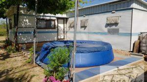 Vendemos Finca de arboles frutales y olivos en Maella con piscina por 49.900€
