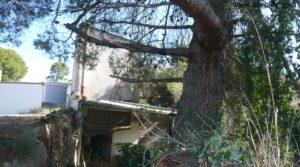 Torre en la huerta de Caspe para vender con porche