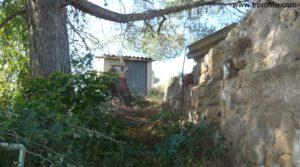 Detalle de Torre en la huerta de Caspe con porche por 38.000€
