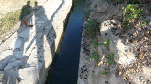 Detalle de Terreno de huerta en Caspe con electricidad