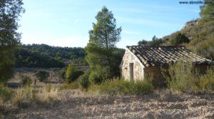 Cabaña en Nonaspe a buen precio con olivos centenarios por 9.000€