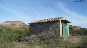 Detalle de Soto en Caspe con rio guadalope por 22.000€