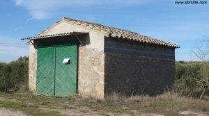 Soto en Caspe a buen precio con rio guadalope por 22.000€