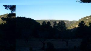 Detalle de Masía del horno Fuentespalda con montañas por 160.000€