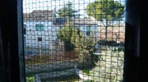 Detalle de Gran casa de campo en Maella con río