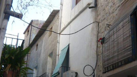 Casa en el casco antiguo de Nonaspe.