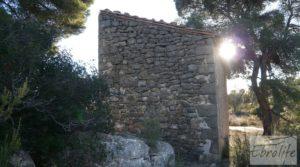 Masía de piedra en Maella. a buen precio con olivos centenarios por 29.000€