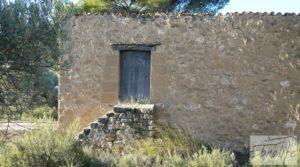 Masía de piedra en Maella. a buen precio con olivos centenarios