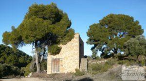 Detalle de Masía de piedra en Maella. con olivos centenarios por 29.000€