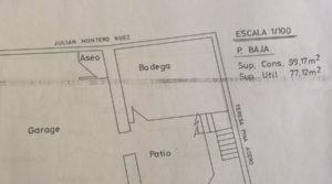 Vendemos Gran casa en Chiprana con patio por 50.000€