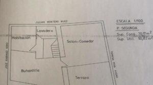 Gran casa en Chiprana en venta con terraza por 50.000€