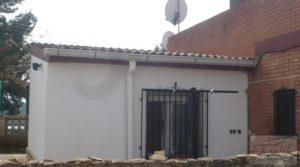 Chalet en Chacón (Caspe) a buen precio con aire acondicionado