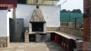Vendemos Chalet en Chacón (Caspe) con chimenea por 115.000€