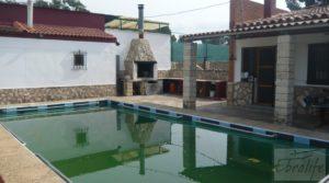 Se vende Chalet en Chacón (Caspe) con piscina