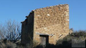 Casa de campo en Caspe a buen precio con regadío
