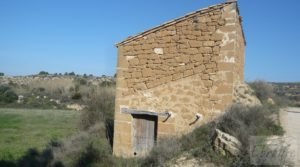 Detalle de Casa de campo en Caspe con regadío