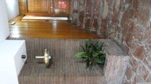 Detalle de Piso situado en Alcañiz, muy luminoso y espacioso. con armarios empotrados