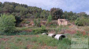 Hermosa finca con casa de piedra en La Fresneda.