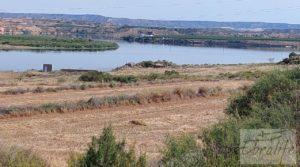 Finca junto al gran embalse en Caspe a buen precio con muy tranquilo por 66.000€