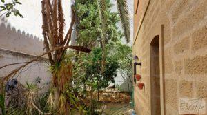 Detalle de Gran casa rodeada de jardines en Caspe. con garaje